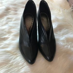 Black Booties BCB Girls Shoes Size 7